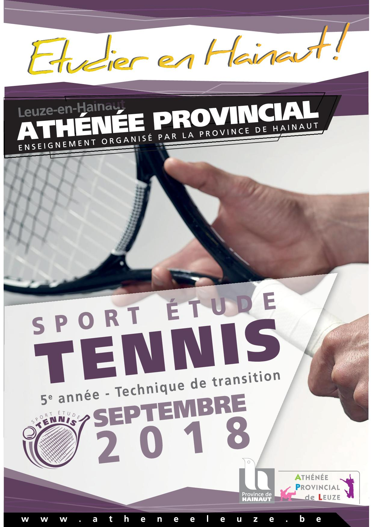 Sport-études tennis