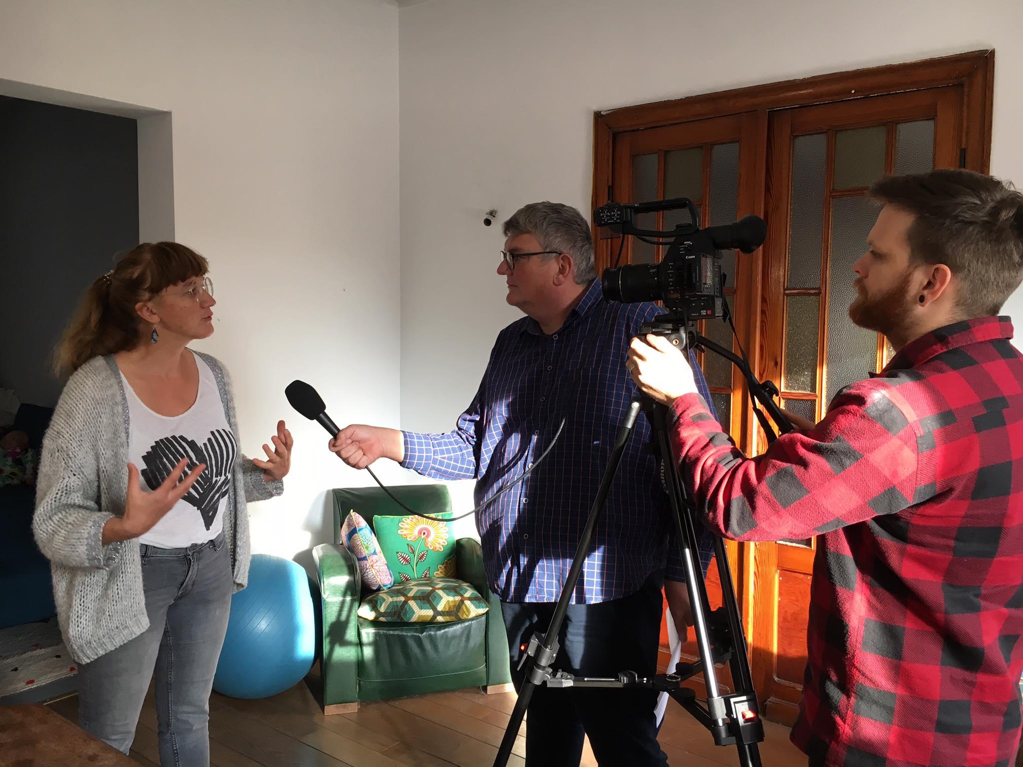 PRIMEE : tournage de la vidéo de lancement de projet