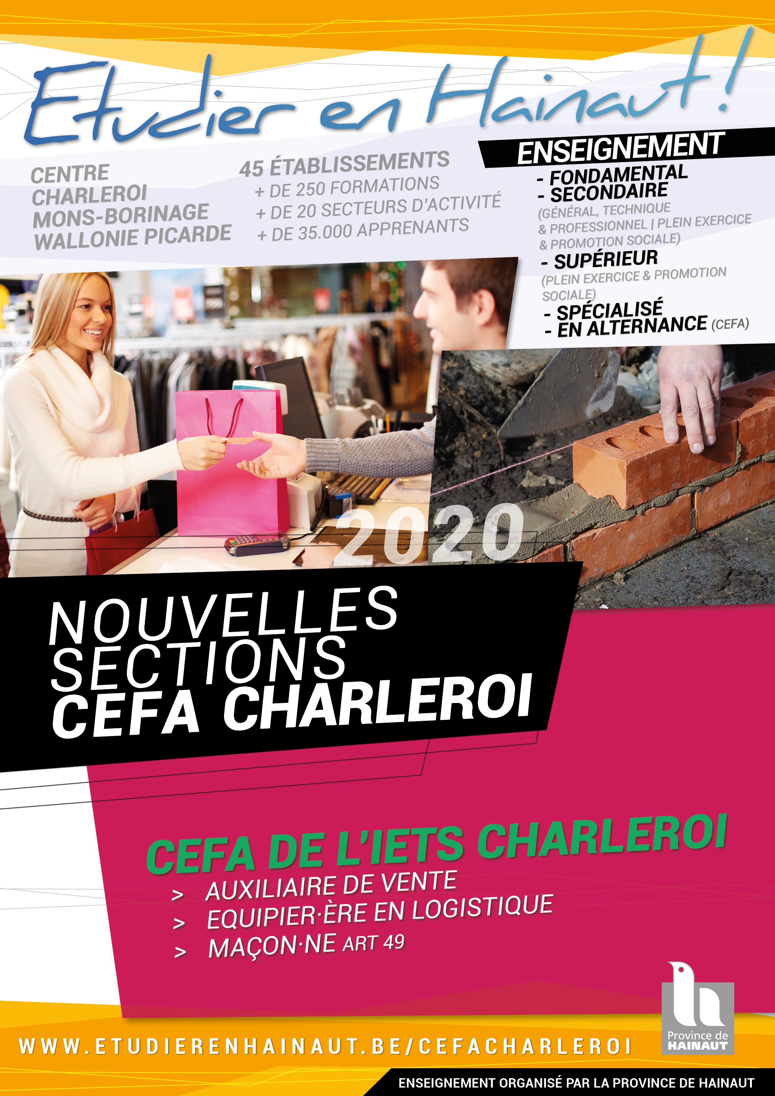 CEFA : Toutes les nouvelles formations !
