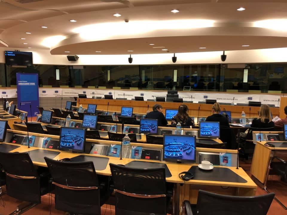 Les élèves de l'IJJ dans le projet Ambassador Shool de l'Union Européenne