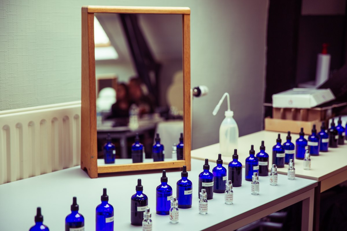 Un atelier parfum à l'IPEPS !