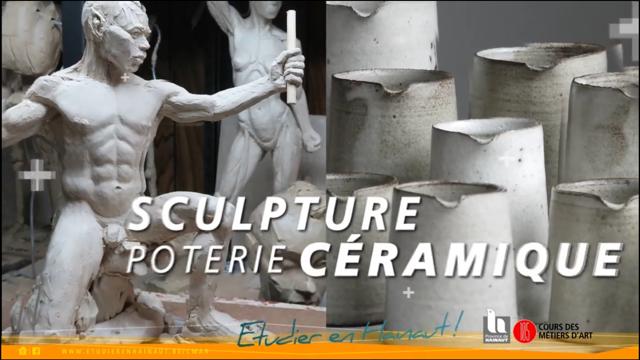 Les cours et Métiers d'Art du Hainaut en vidéo