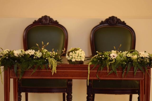 Des fleurs pour le le Sénat !