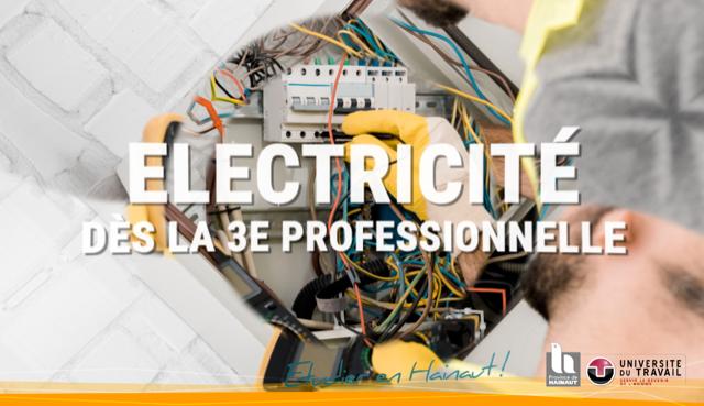 Formation en électricité dès la 3e professionnelle
