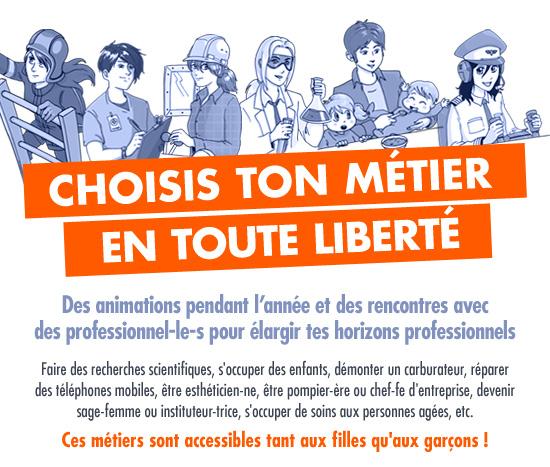 Girls Day, Boys Day à l'Ecole du Futur de Mons