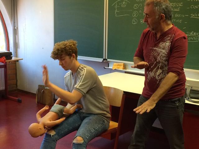 L'IESPP Tournai se forme aux gestes qui sauvent