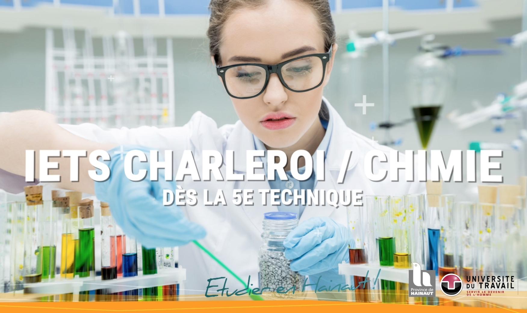 Etudie la chimie à l'IETS Charleroi