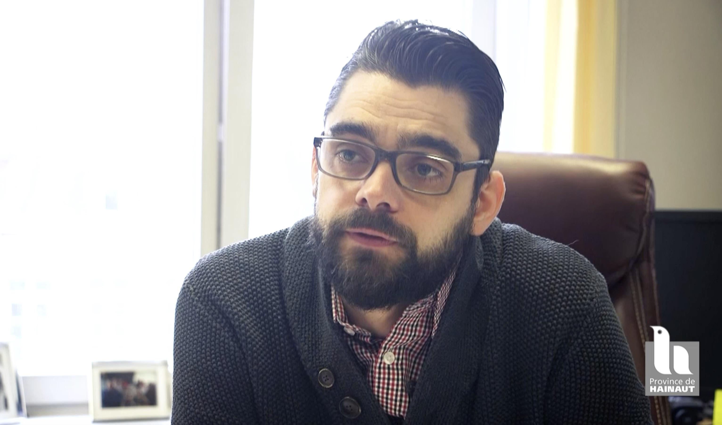 A la rencontre de Jérôme Caudron, le nouveau Directeur de l'EDF Mons