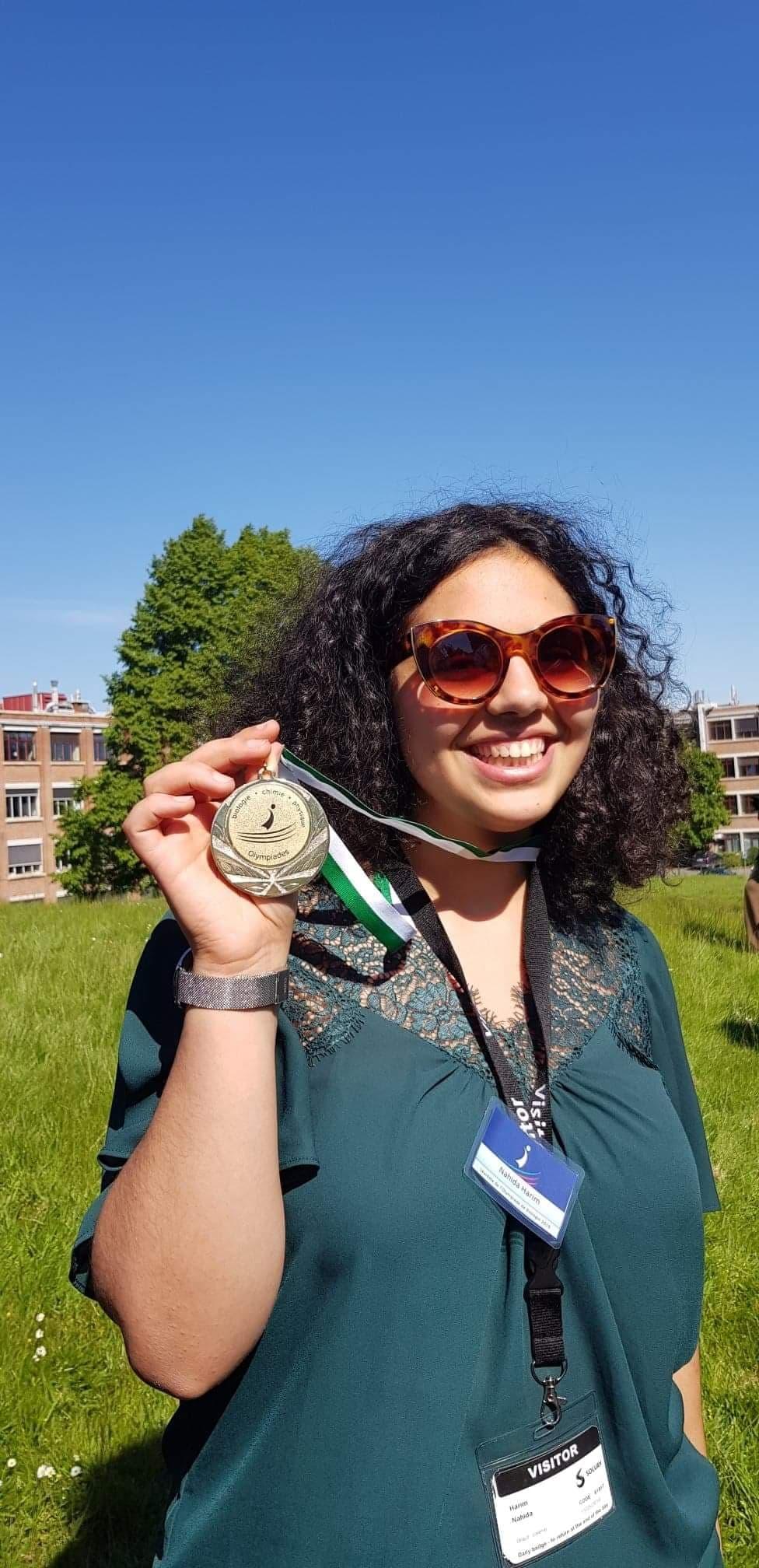 Une médaillée d'Or à l'EDF Mons !
