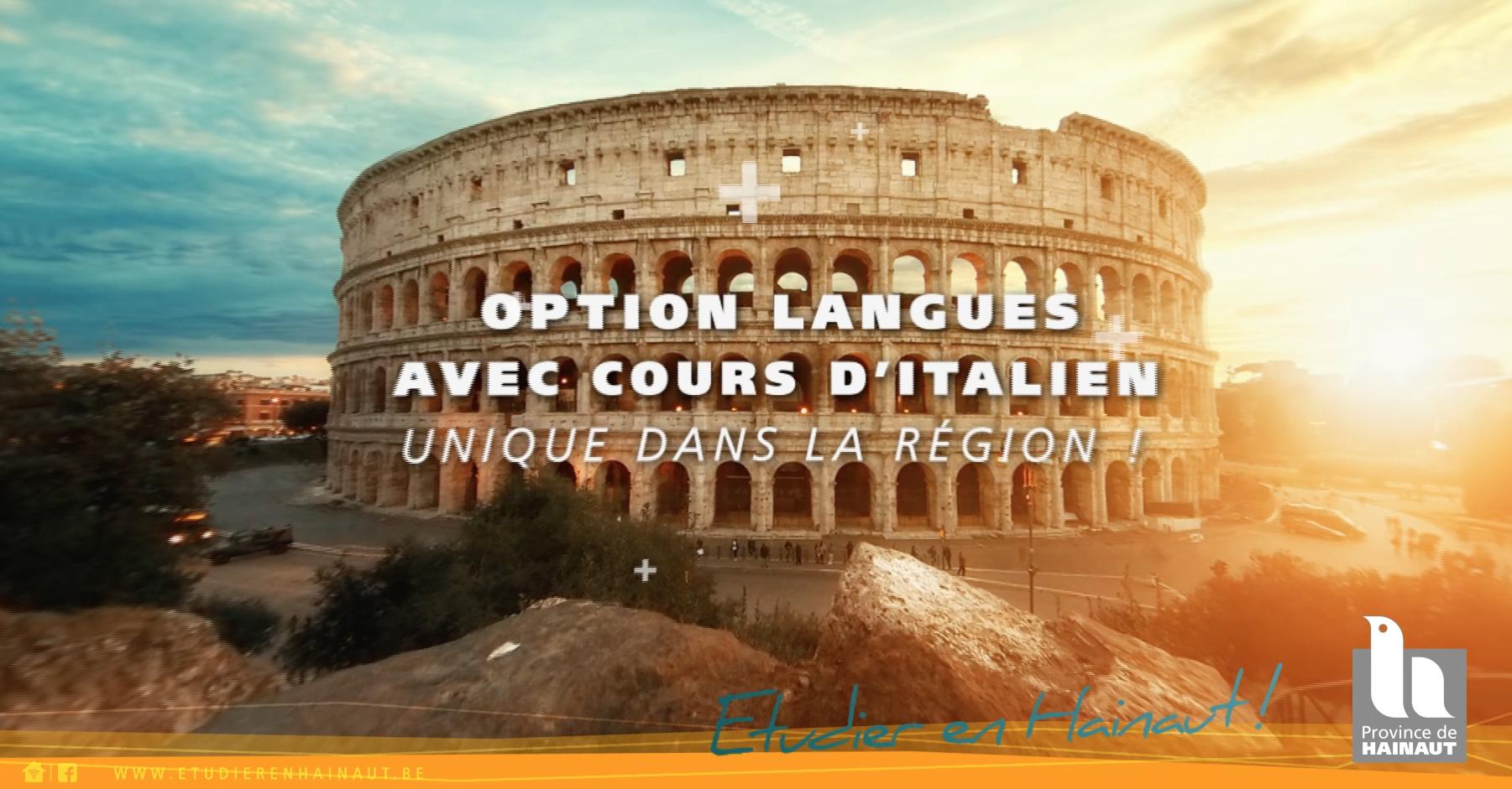 Option langues - avec cours d'Italien