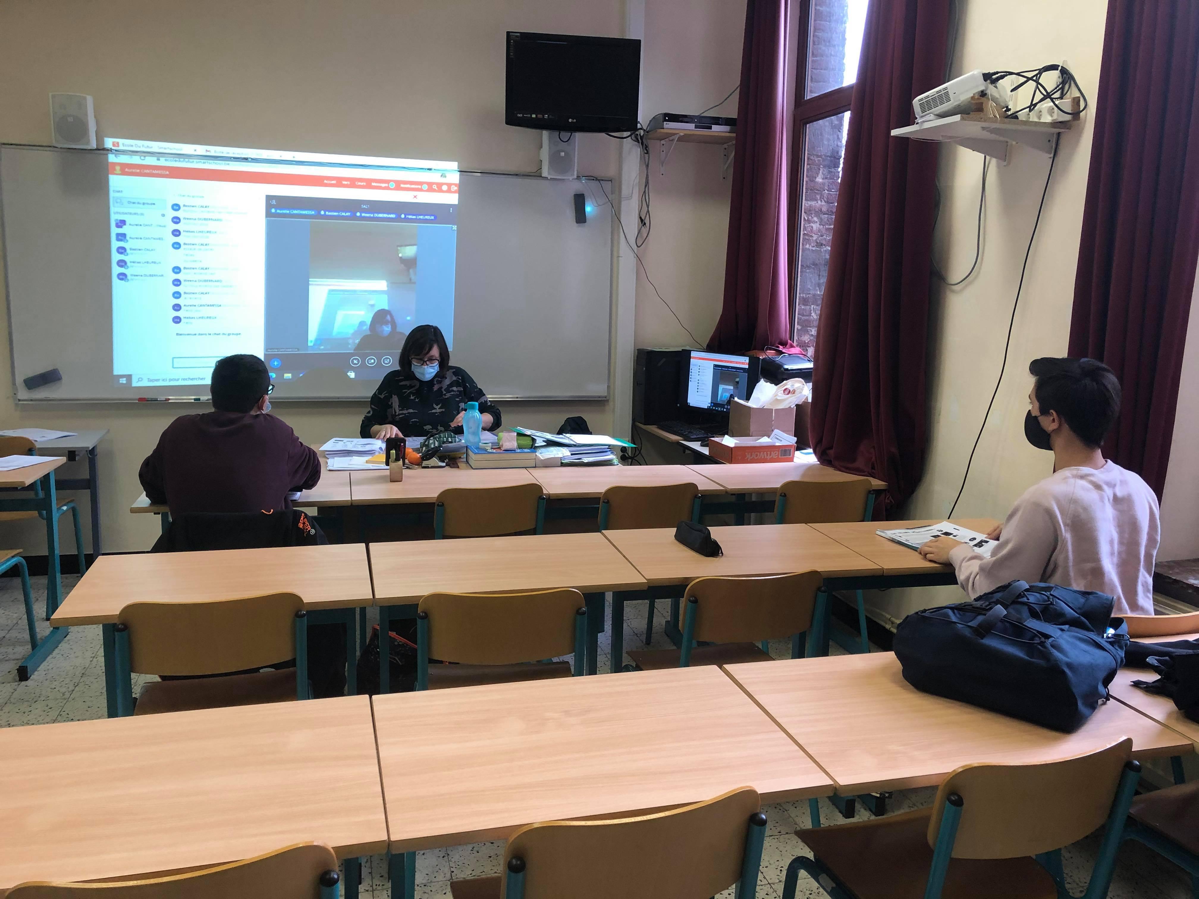 Rentrée positive à l'Ecole du Futur de Mons