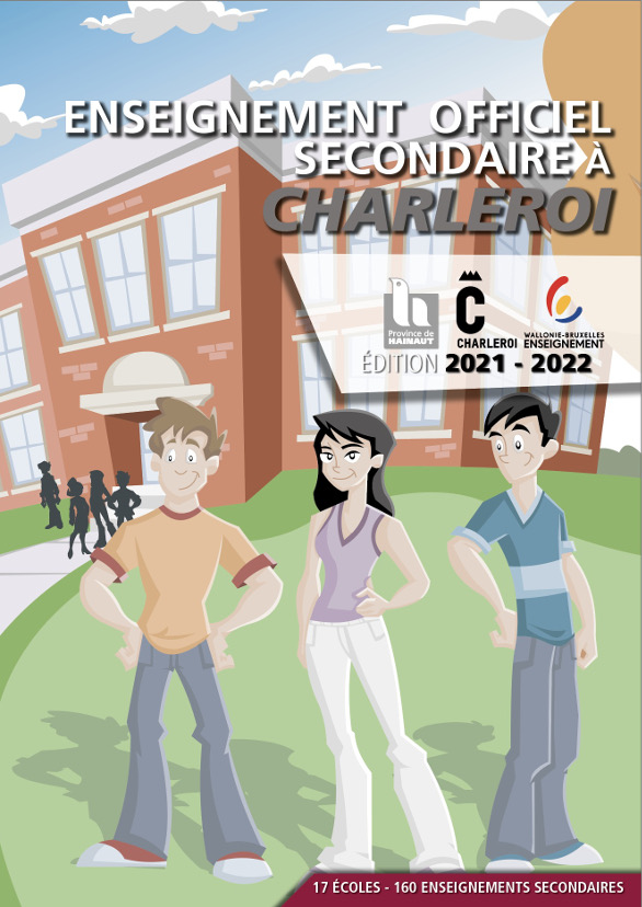 Charleroi : guide 2021 de l'enseignement Officiel