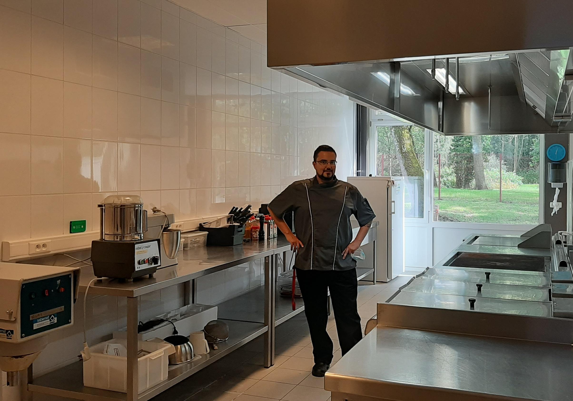 Un nouveau chef de cuisine à l'APJA