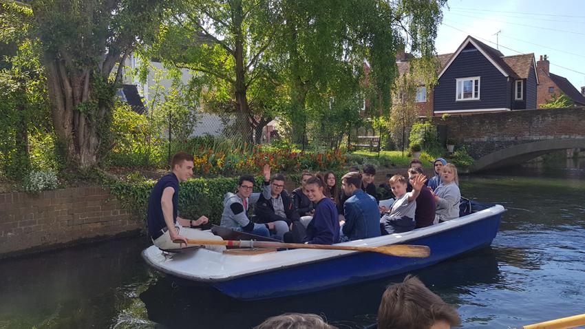 Voyage des troisièmes à Canterbury