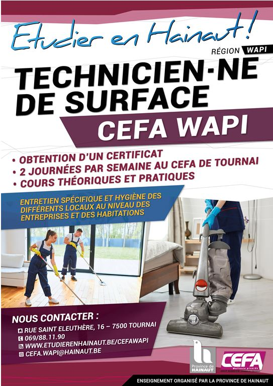 Technicien(ne) de surface