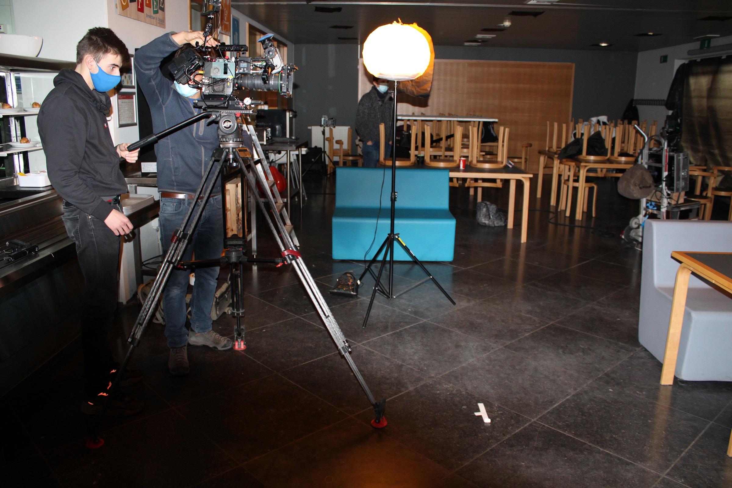Semaine de tournage :  Cap sur les techniciens de l'image