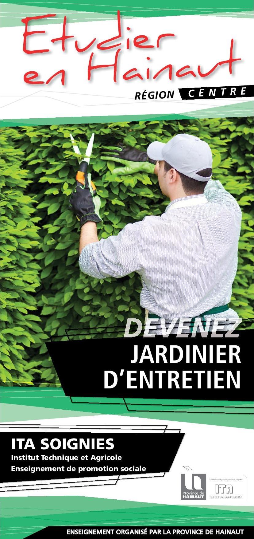 Jardinier d'entretien en 2 ans : un métier 100% plein air et plein emploi