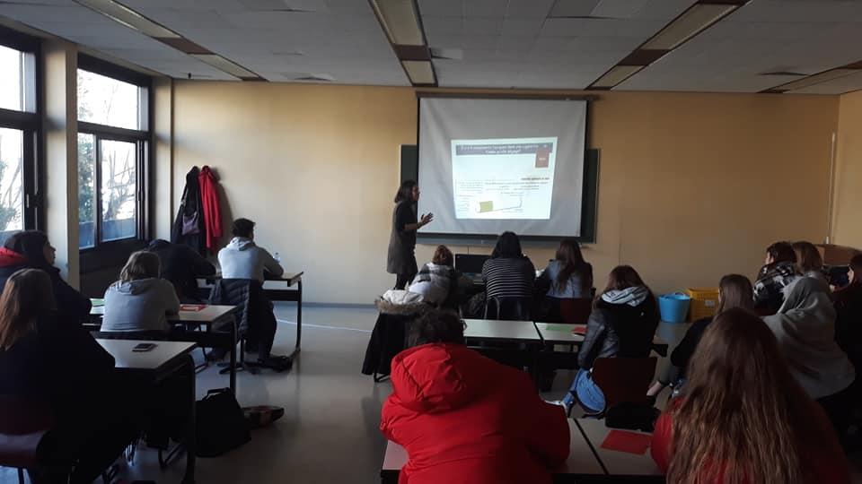 Projet sans Tabac - 07/02/2019 avec les classes de 3èmes services sociaux