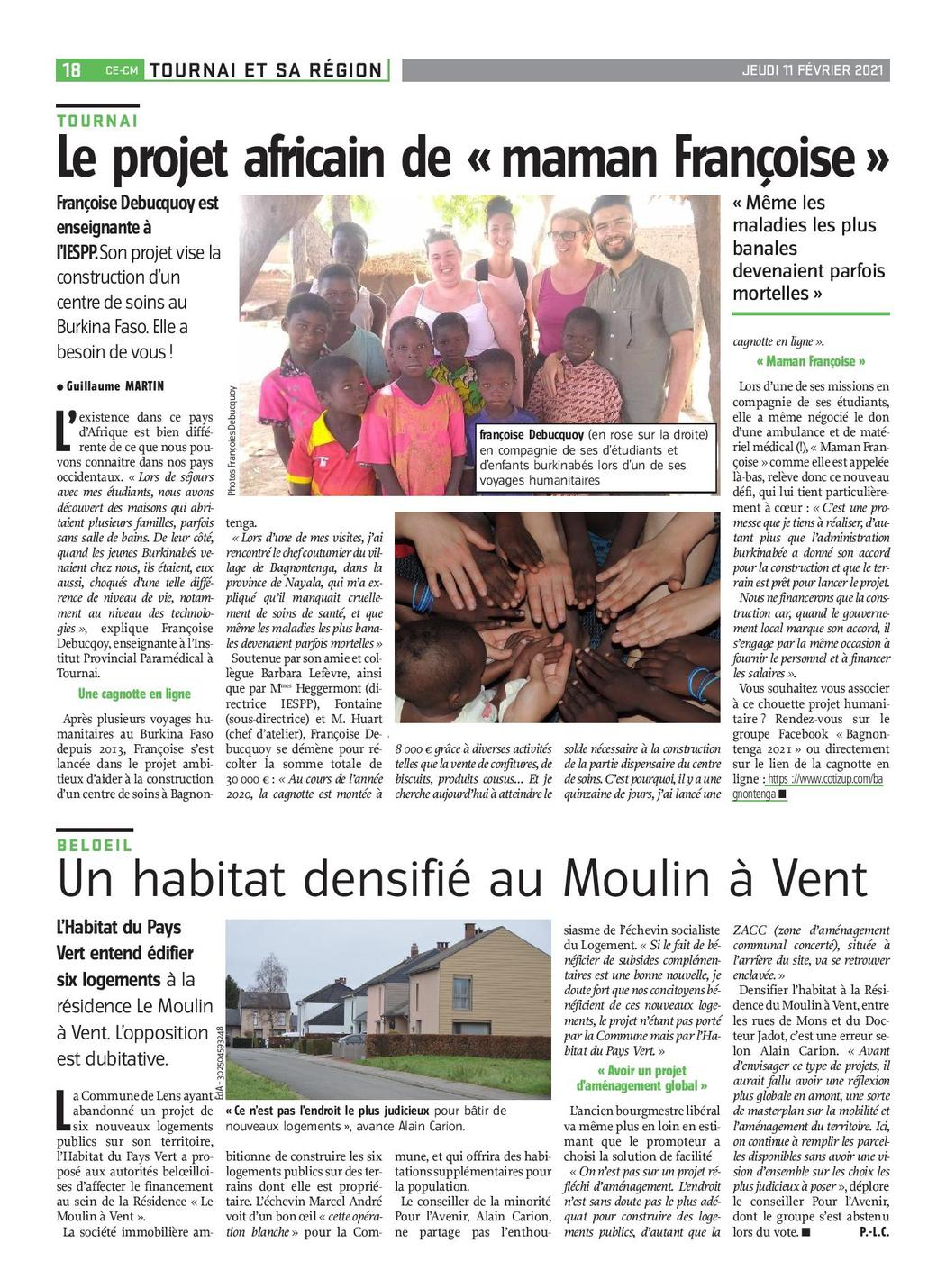 cagnotte en ligne : Le projet africain de