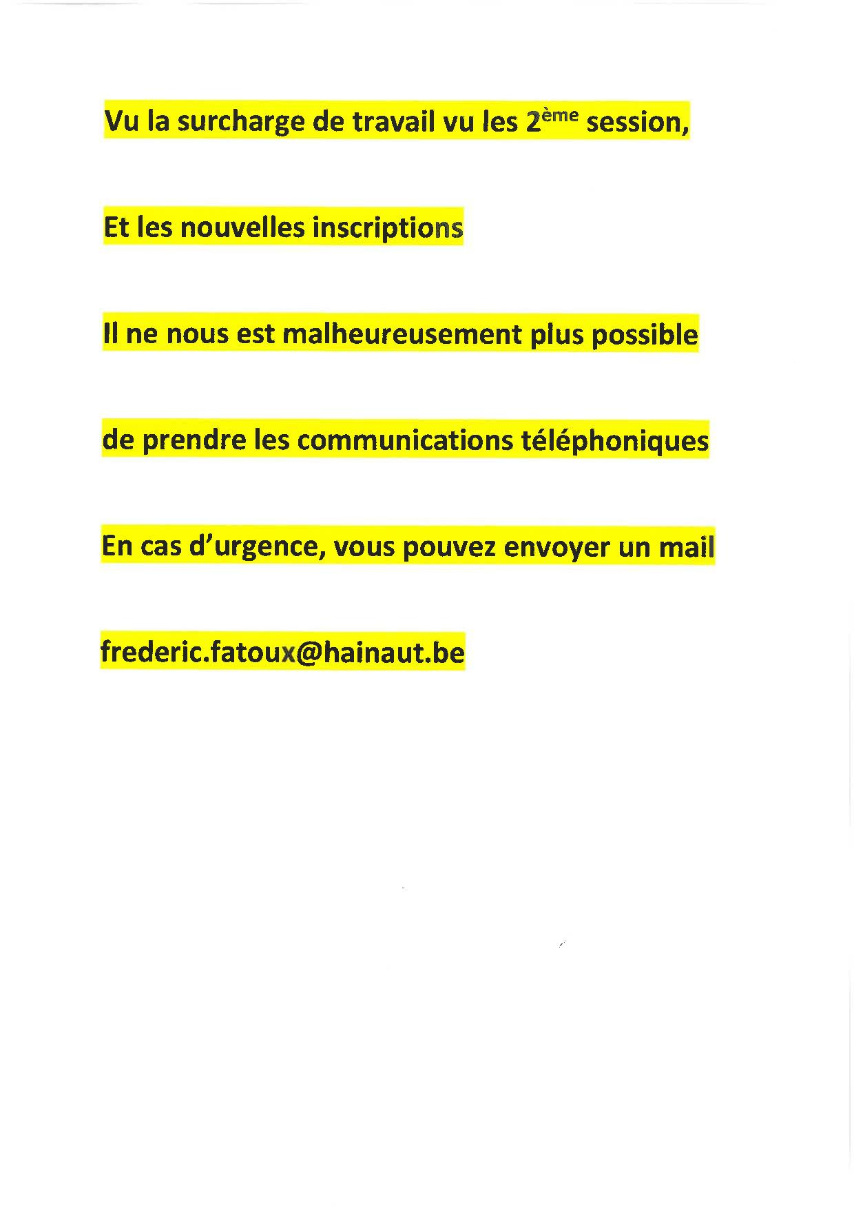 Informations IETCps