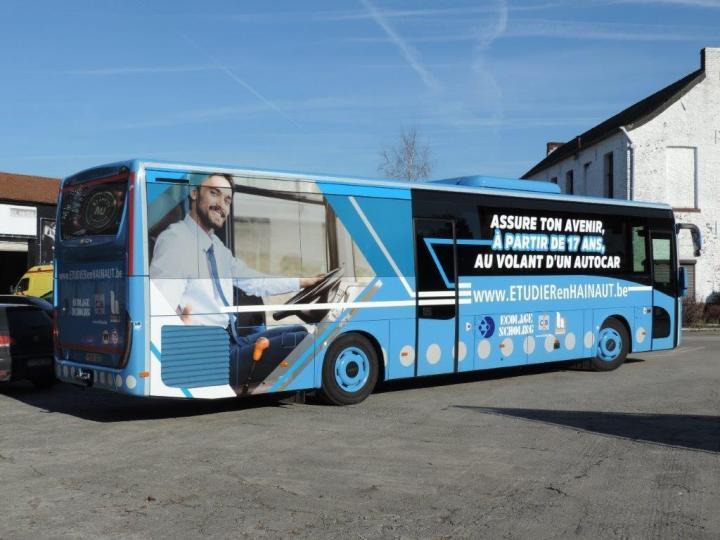 Conducteur d'autocar : une formation unique en Belgique