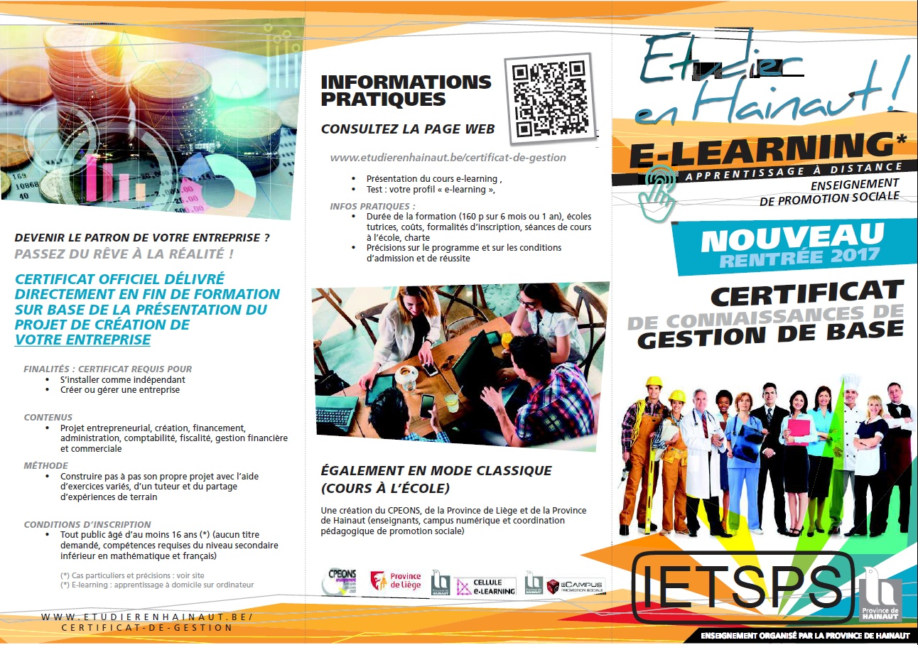 Photo flyer elearning