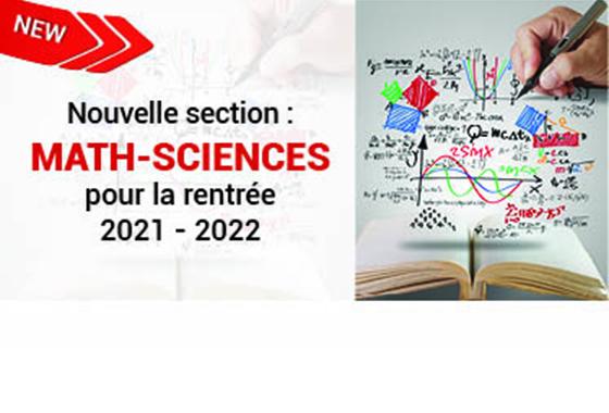 Découvrez la nouvelle section math - sciences de l'Institut  Jean Jaurès en 5e et 6e année général