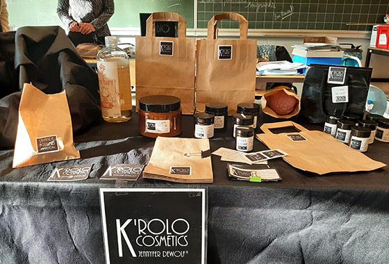 Découvrez le reportage sur le projet de création du packaging K'rolo Cosmetics