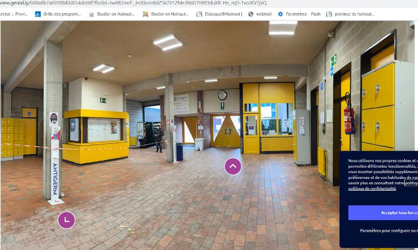 [Inscriptions] Visitez notre école en virtuel