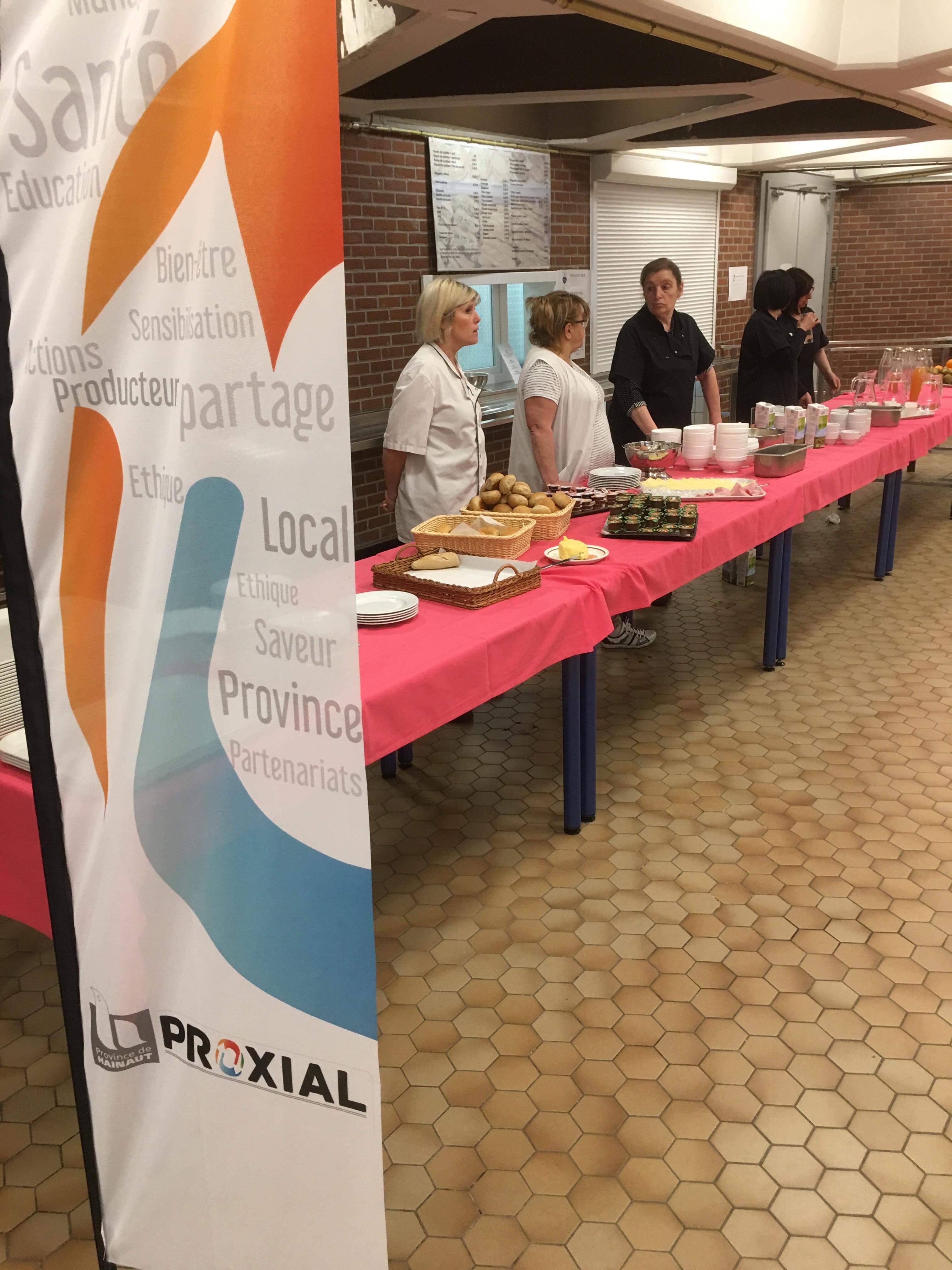 Petit-déjeuner équilibré à l'Académie Provinciale des Métiers de Mons