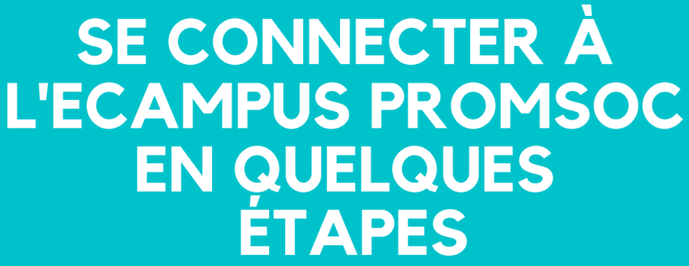 Se connecter à l'eCampus Promsoc