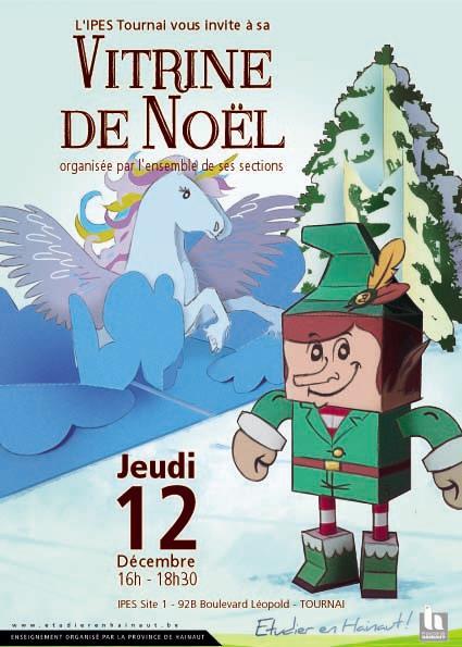 Vitrine de Noël 2019