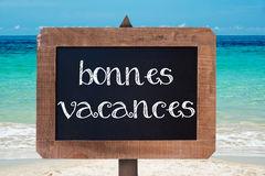 Vacances d'été du 6 juillet au 16 août inclus