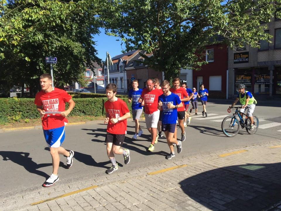 Des élèves du LPETH de Saint-Ghislain ont couru pour la bonne cause !