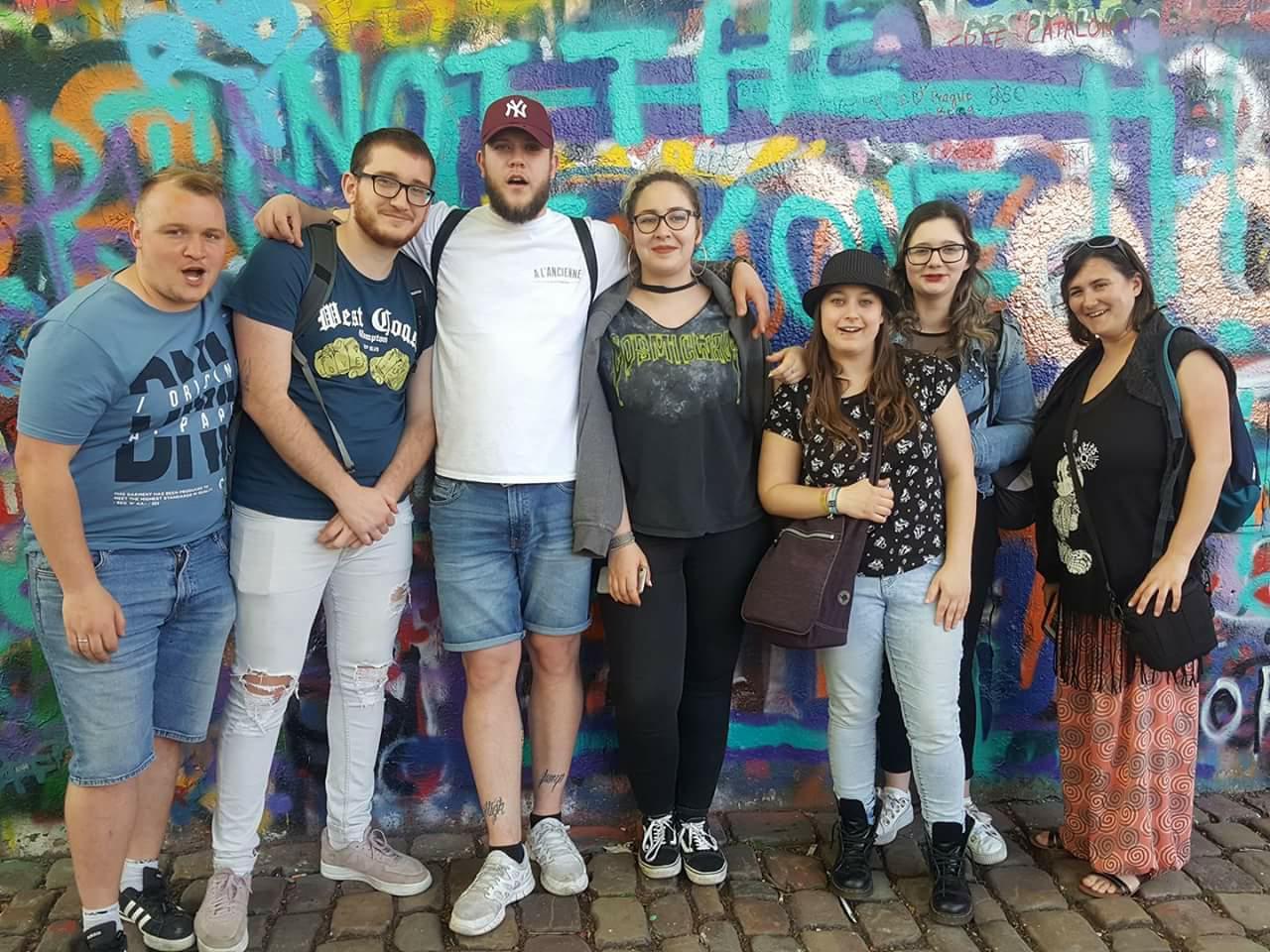 Les 6e agents d'éducation à la découverte de Prague