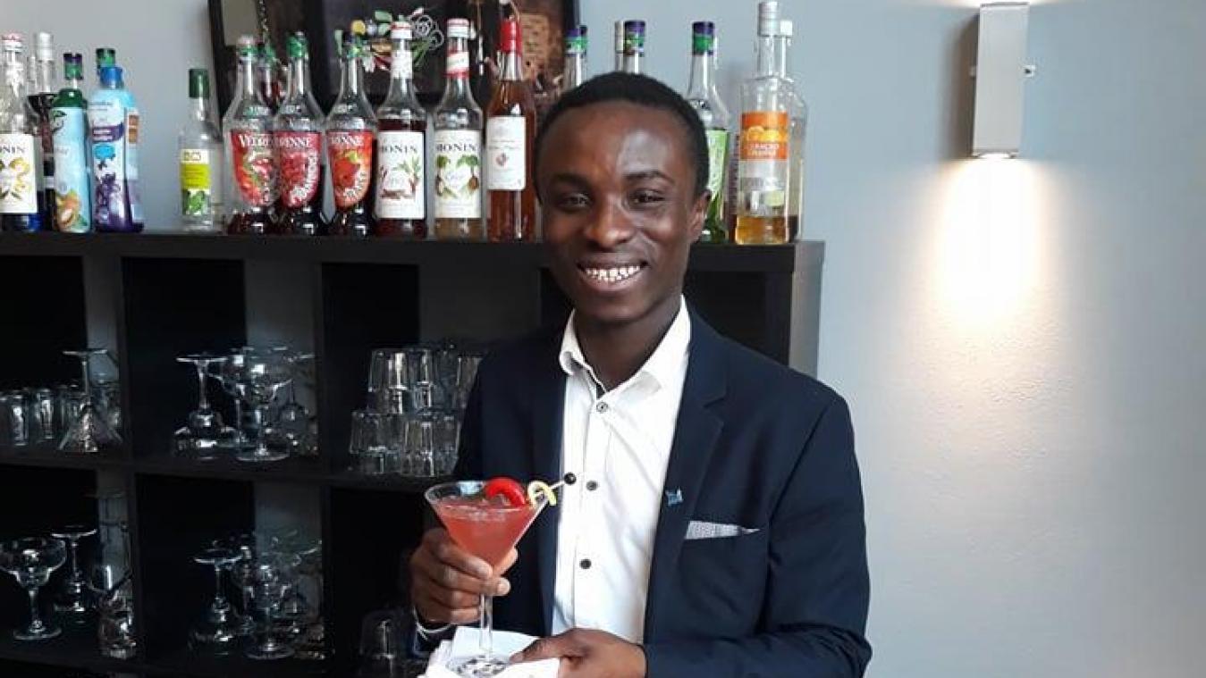Un champion des cocktails dans notre formation