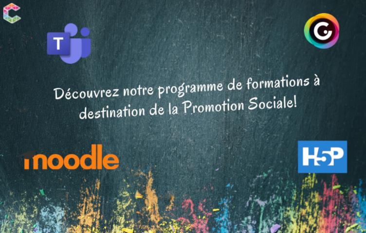 Promotion Sociale : ateliersde formations aux outils numériques