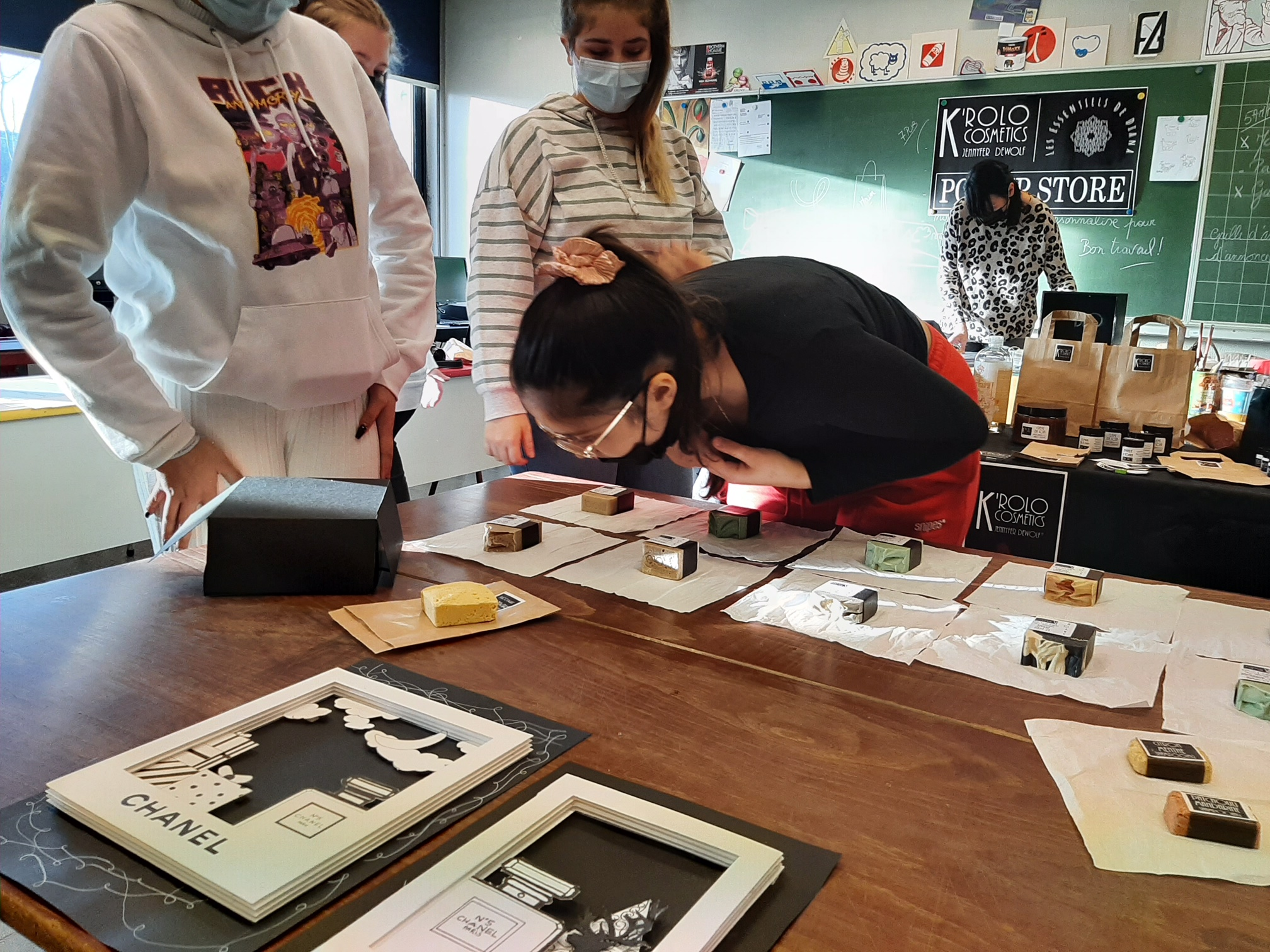 IJJ : les élèves de la section PUB habillent K'rolo Cosmetics