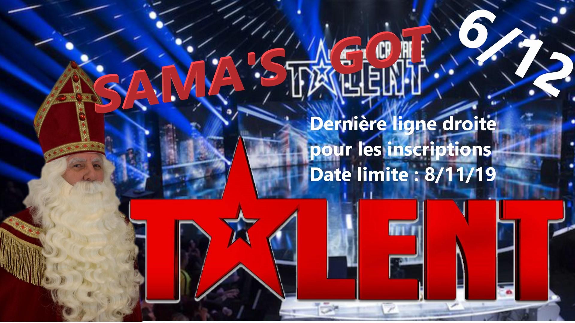 Dernière ligne droite pour les inscriptions à Sama Got Talent 2019